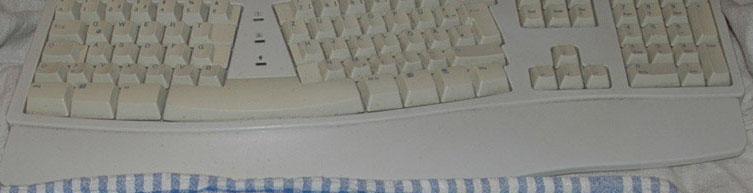 Tastatur Belegung für Windows auf Apple Tastaturen